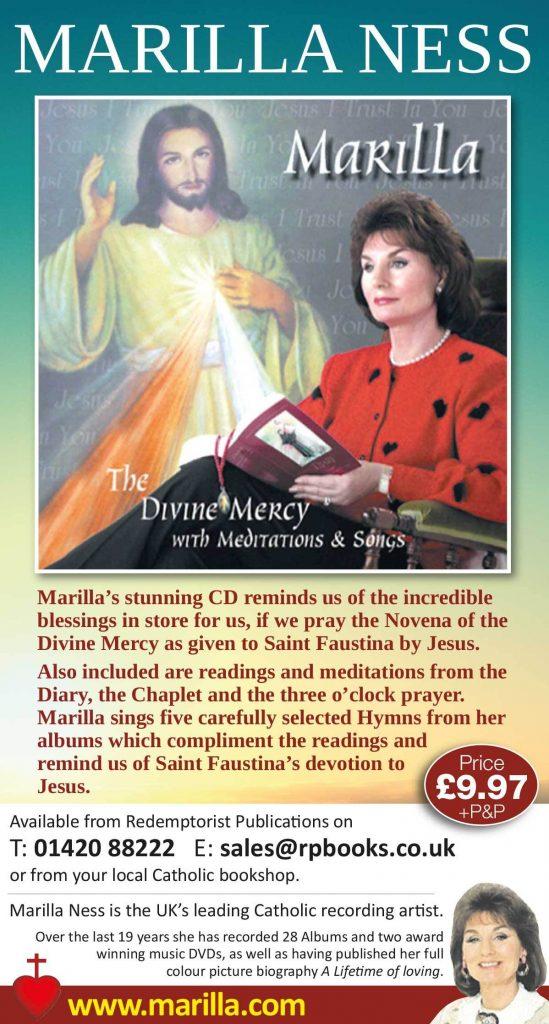 marilla ness - the divine mercy