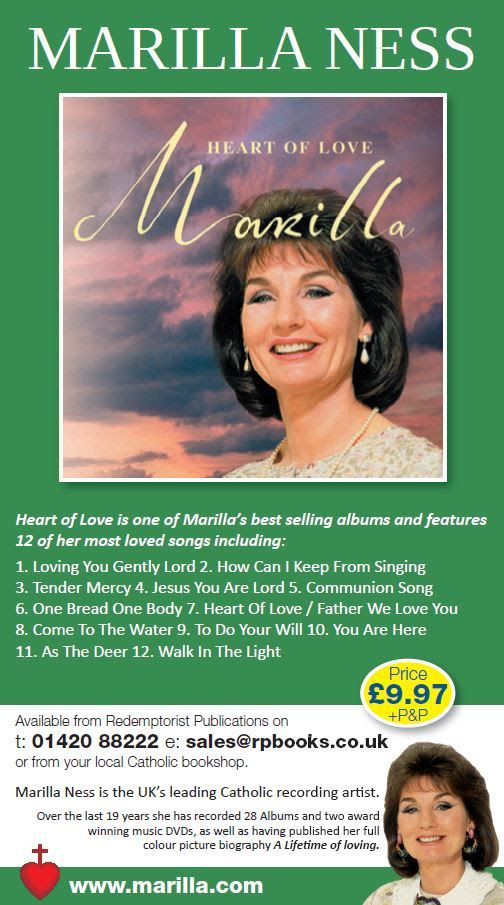heart of love cd marilla ness